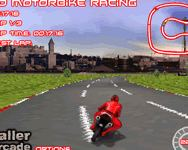 On-line 3D motorbike racing játék