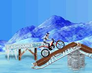 online Bike Mania on Ice motoros flash j�t�k