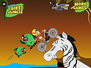 Super bike jungle motoros játékok