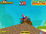 Super Mario motorcycle rush j�t�k
