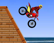 Thrill biking motor játék